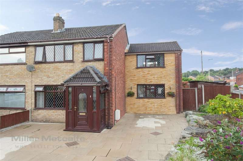 4 Bedrooms Semi Detached House for sale in Garston Close, Leigh, Lancashire