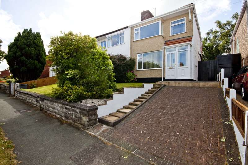 3 Bedrooms Semi Detached House for sale in Kylemore Drive, Heswall, Wirral, CH61