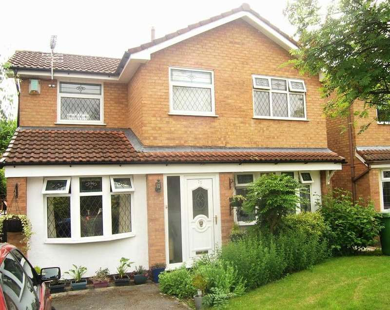 3 Bedrooms Detached House for sale in Carmarthen Close, Callands, Warrington