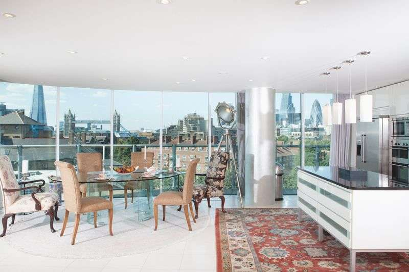 3 Bedrooms Property for sale in Wapping High Street, London