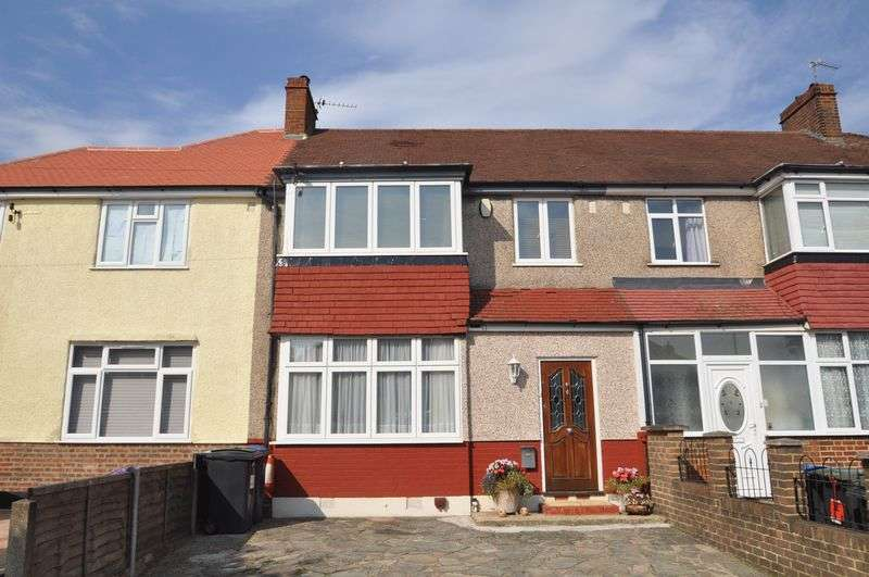 3 Bedrooms Terraced House for sale in Extended Family Home in Amberwood Rise.