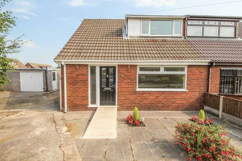 2 Bedrooms Semi Detached Bungalow for sale in Pendle Close, Pemberton