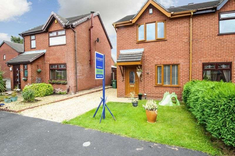 2 Bedrooms Semi Detached House for sale in Limevale, Ince