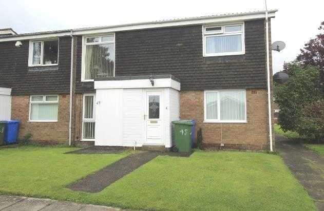 2 Bedrooms Flat for sale in Wreay Walk, Southfield Lea, Cramlington