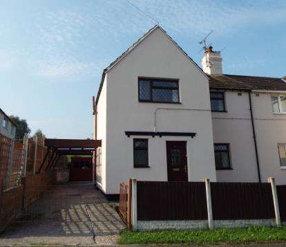 3 Bedrooms Semi Detached House for sale in Cairnton Crescent, Greenfield, Holywell, Flintshire, CH8