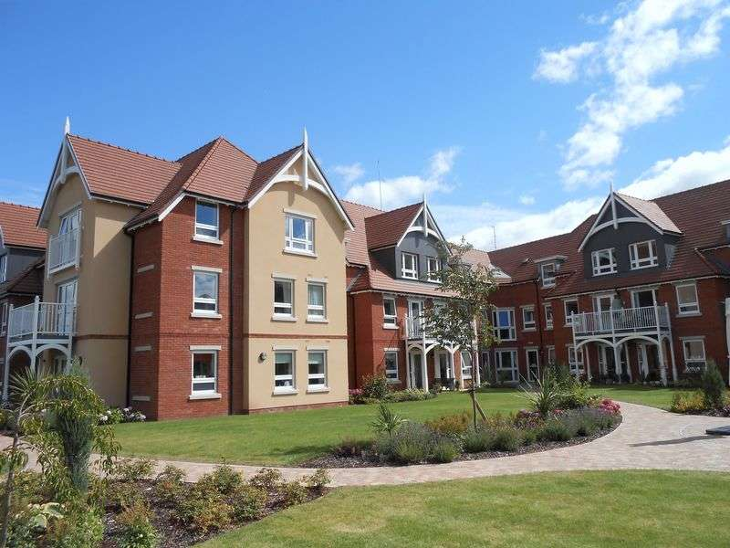 1 Bedroom Flat for sale in Horton Mill Court, Hanbury Road, Droitwich: One bed first floor retirement apartment