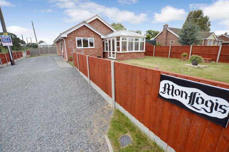 2 Bedrooms Detached Bungalow for sale in Monlogis, North Road, Tattershall Thorpe