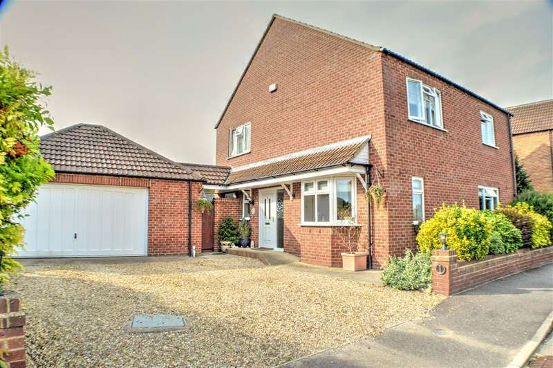 4 Bedrooms Detached House for sale in Ousemere Close, Billingborough