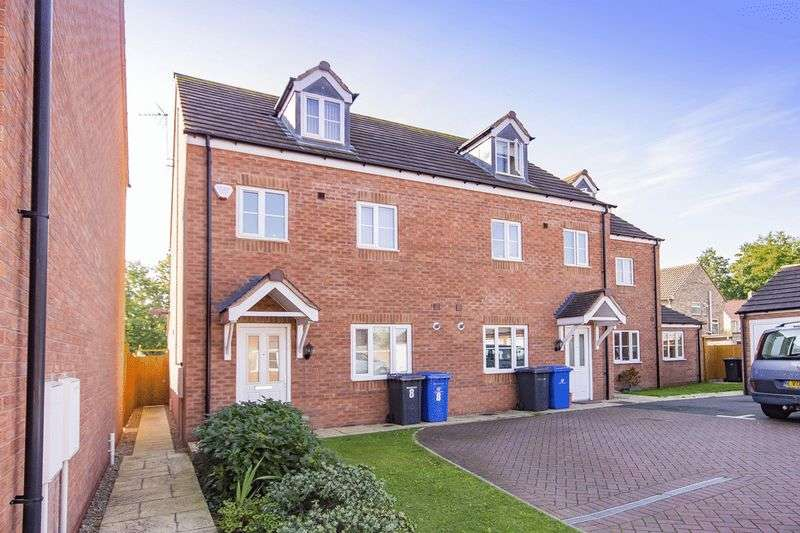 4 Bedrooms Terraced House for sale in BRIGHTWATER CLOSE, SHELTON LOCK