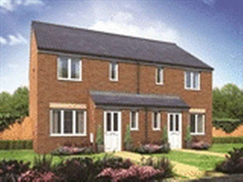 3 Bedrooms Semi Detached House for sale in The Hanbury - Kingsbury Meadows, Wakefield
