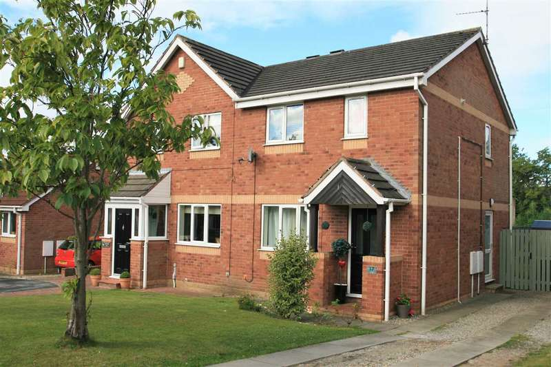 3 Bedrooms Semi Detached House for sale in 17, Hillbank View, on the edge of open countryside, Harrogate HG1 4DR