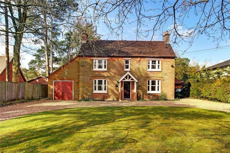4 Bedrooms Detached House for sale in The Ridge, Cold Ash, Thatcham, Berkshire, RG18