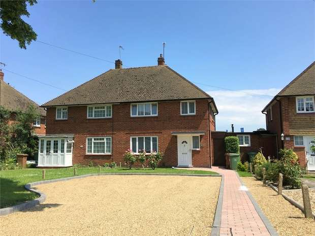 3 Bedrooms Semi Detached House for sale in Hook Road, Epsom