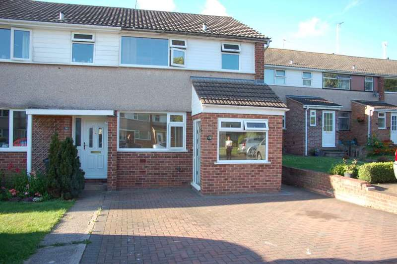 3 Bedrooms End Of Terrace House for sale in Farm View, Taunton
