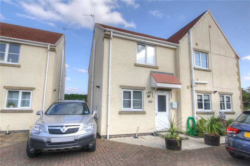 2 Bedrooms Semi Detached House for sale in Oakley Manor, West Auckland, Bishop Auckland, DL14