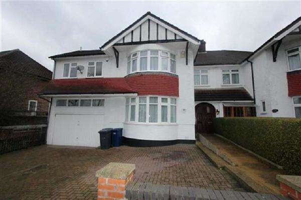 5 Bedrooms Semi Detached House for sale in Penthurst Gardens, Edgware