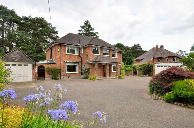 3 Bedrooms Detached House for sale in Golf Links Road, Ferndown