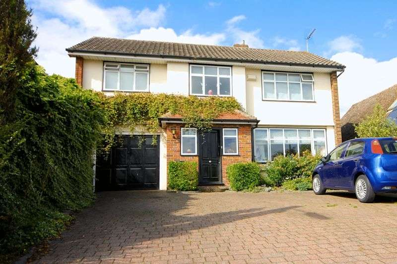 5 Bedrooms Detached House for sale in Woodside Road, Near Caddington