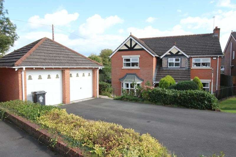 4 Bedrooms Detached House for sale in 78 Hillcrest, Ellesmere Shropshire
