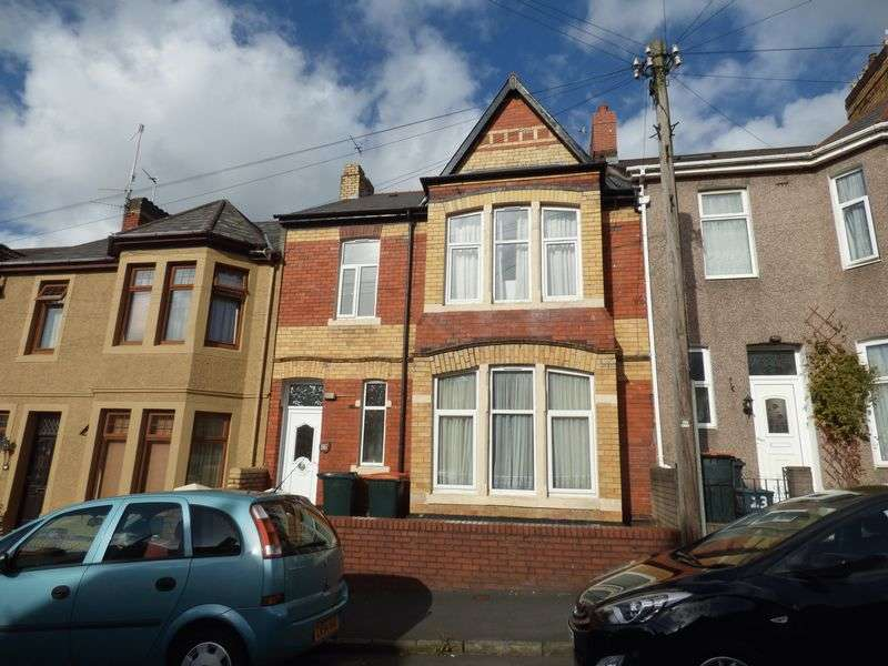 4 Bedrooms Terraced House for sale in Somerset Road, Newport
