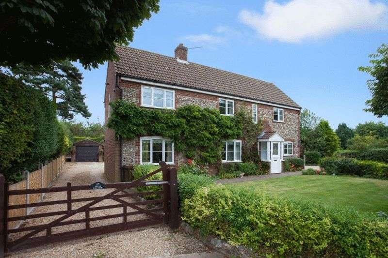 4 Bedrooms Detached House for sale in Edgefield, Norfolk