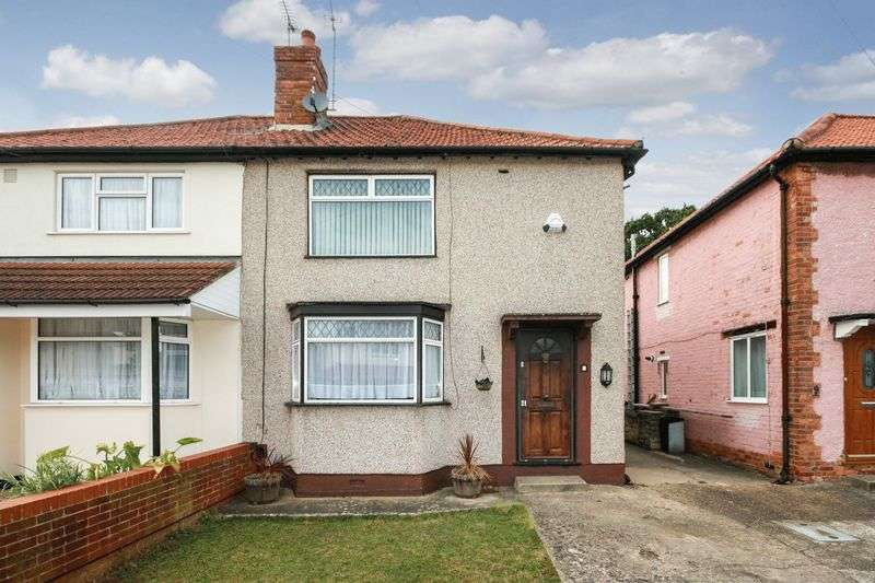 3 Bedrooms Semi Detached House for sale in Killowen Avenue, Northolt