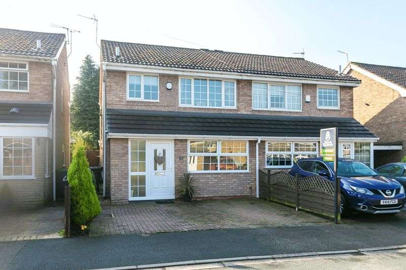 3 Bedrooms Semi Detached House for sale in Ash Close, Appley Bridge, WN6 9HU