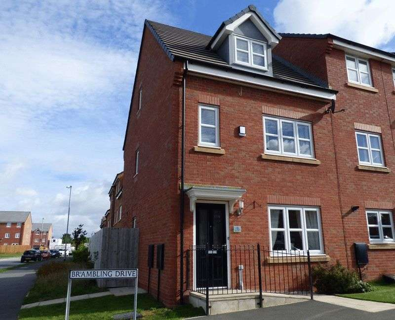 4 Bedrooms Terraced House for sale in Brambling Drive, Heysham