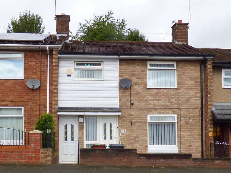 3 Bedrooms Terraced House for sale in Lynton Road, Huyton, Liverpool