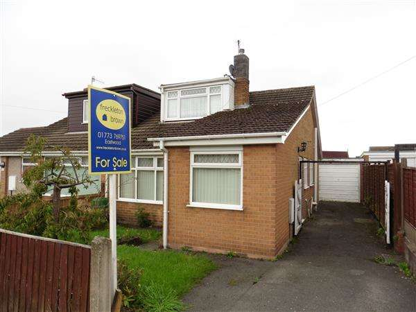 3 Bedrooms Semi Detached Bungalow for sale in Thorntree Gardens, Eastwood, Nottingham