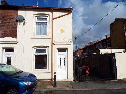 2 Bedrooms End Of Terrace House for sale in Vincent Street, Ewood, Blackburn, Lancashire