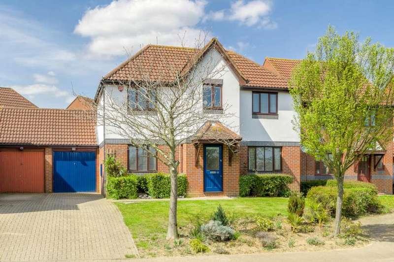 4 Bedrooms Detached House for sale in Dulverton Drive, Furzton