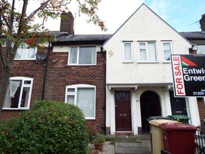 2 Bedrooms Terraced House for sale in Balcary Grove, Bolton, Greater Manchester, BL1