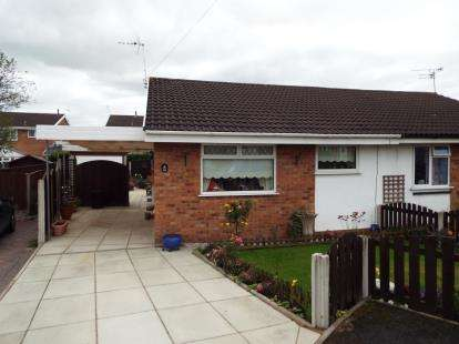 2 Bedrooms Bungalow for sale in Honeysuckle Close, Broughton, Chester, Flintshire, CH4