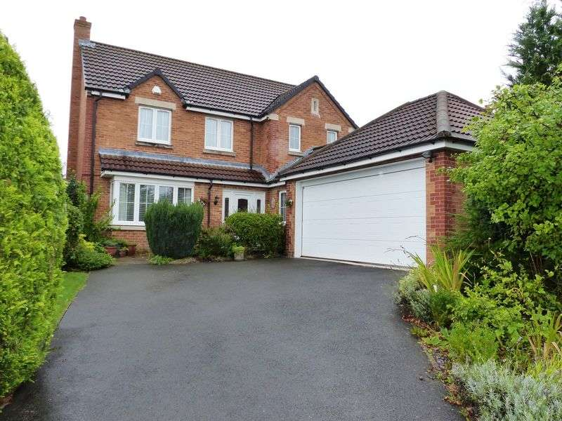 4 Bedrooms Detached House for sale in Carram Way, Lincoln