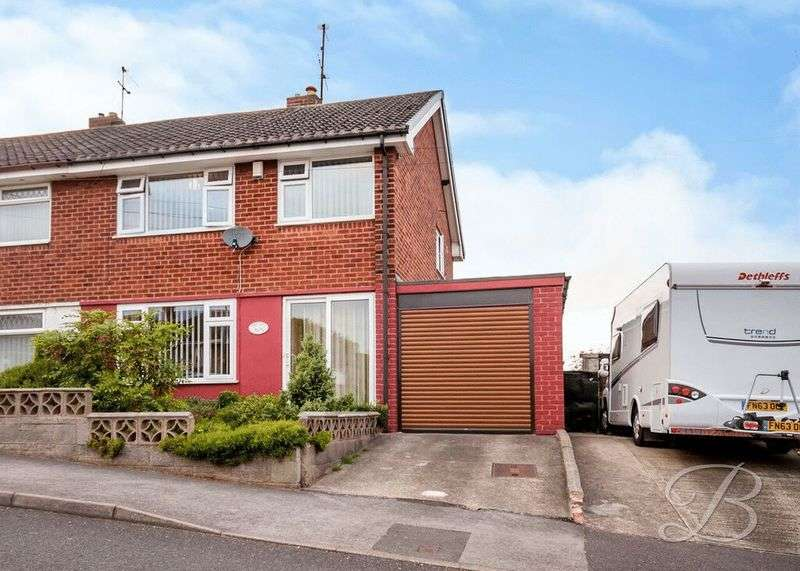 3 Bedrooms Semi Detached House for sale in Clumber Street, Warsop