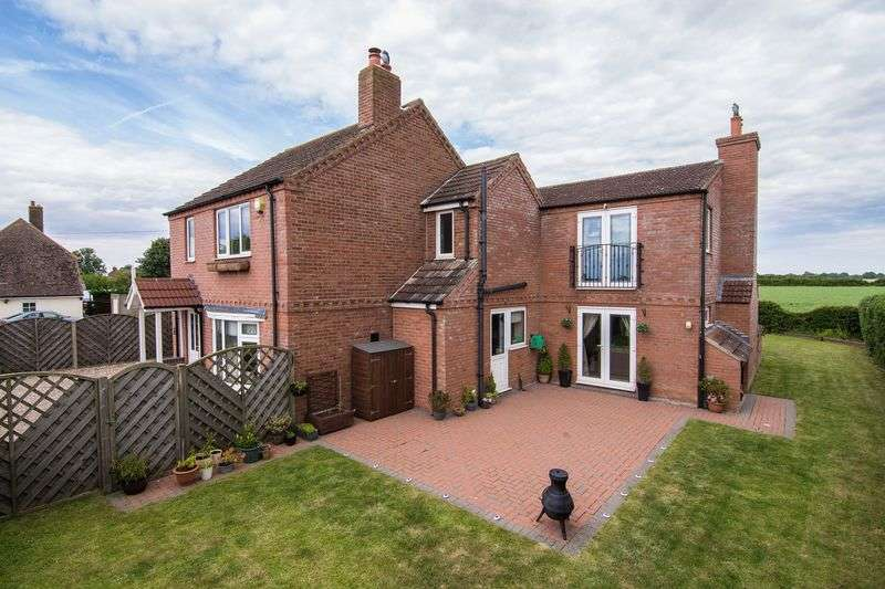 4 Bedrooms Detached House for sale in Station Road, Little Steeping