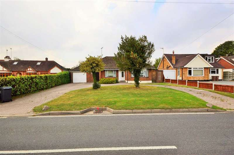 4 Bedrooms Detached Bungalow for sale in Ramsden Heath **Re-Development Potential**