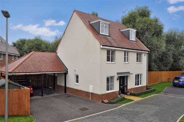 5 Bedrooms Detached House for sale in Aruba Close, Newton Leys, Buckinghamshire