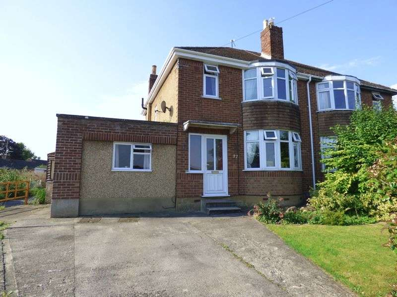 3 Bedrooms Semi Detached House for sale in Rutland Crescent, Trowbridge