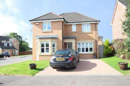 3 Bedrooms Detached House for sale in Broomhouse Crescent, Uddingston, Glasgow, North Lanarkshire