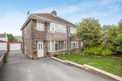 3 Bedrooms Semi Detached House for sale in Nursery Avenue, Halifax, West Yorkshire