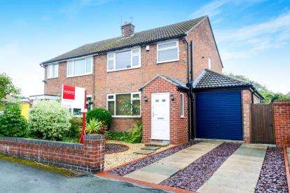 3 Bedrooms Semi Detached House for sale in Carlisle Close, Mobberley, Knutsford, Cheshire