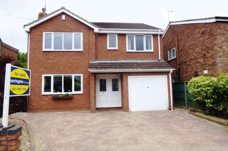 4 Bedrooms Detached House for sale in This well presented, spacious, detached residence offers particularly good family accommodation comprising: hallway, cloakroom, through lounge dining