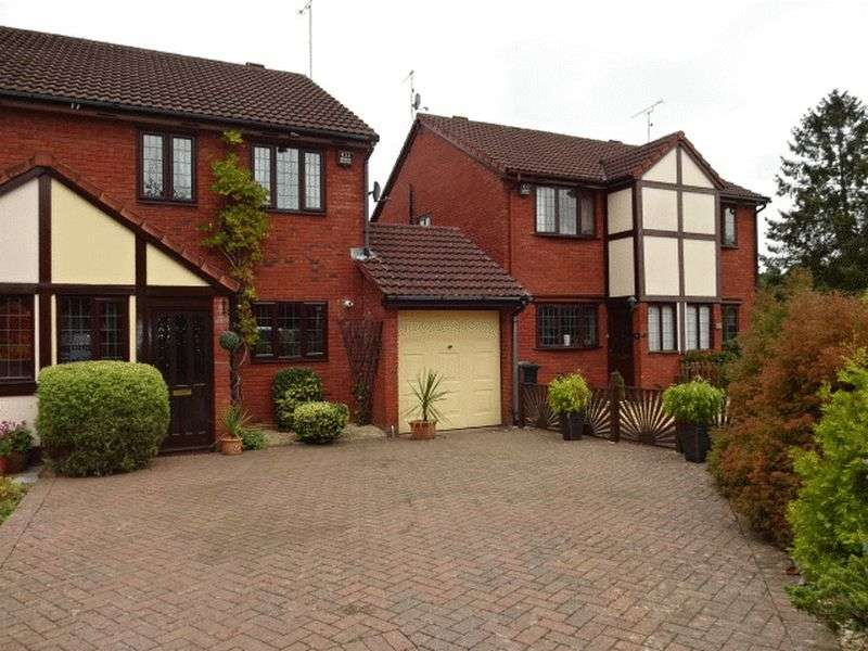 3 Bedrooms Semi Detached House for sale in Heathlands, Stourport-on-Severn DY13 9NS
