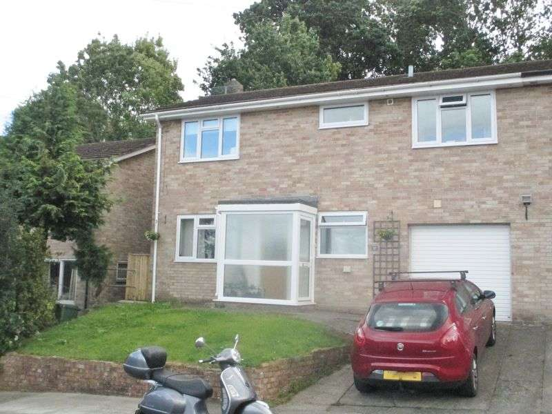 3 Bedrooms Semi Detached House for sale in Sycamore Drive, Yeovil