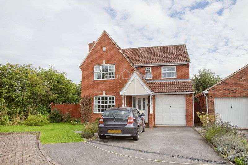 4 Bedrooms Detached House for sale in Tapin Close, LINCOLN