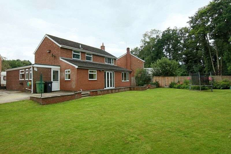 4 Bedrooms Detached House for sale in Woodlands Grove, Higher Heath, Whitchurch