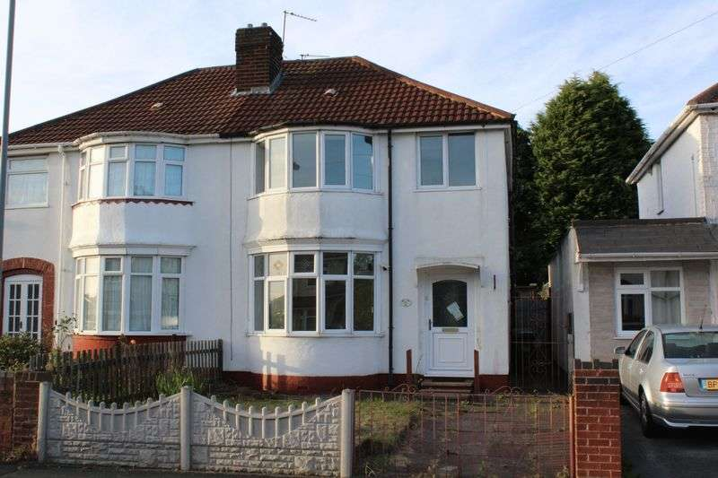 3 Bedrooms Semi Detached House for sale in Moat Road, Tipton