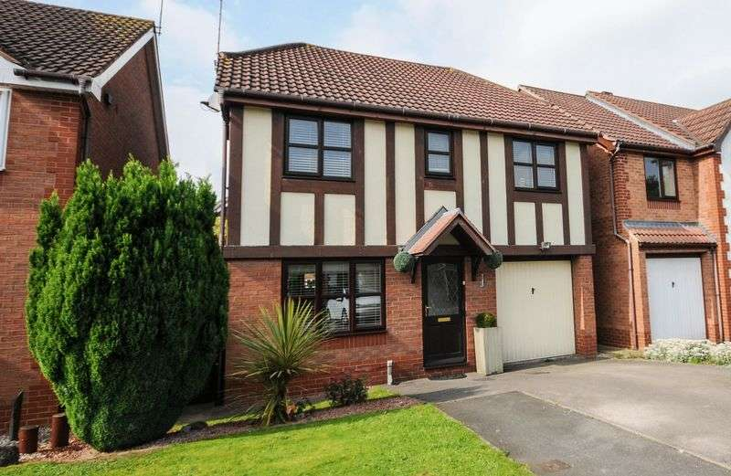 4 Bedrooms Detached House for sale in Overcroft, Bramshall